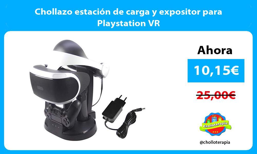 Chollazo estación de carga y expositor para Playstation VR
