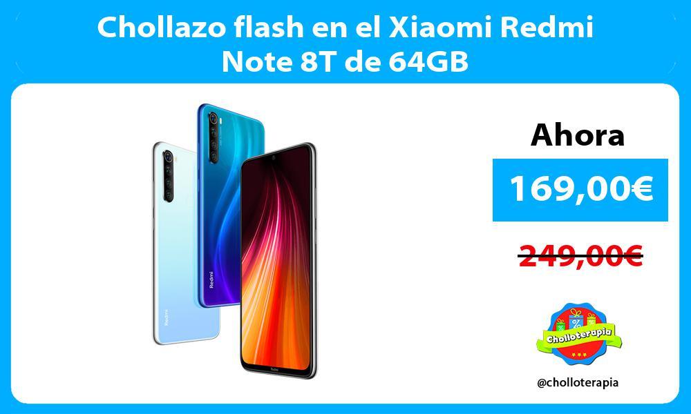 Chollazo flash en el Xiaomi Redmi Note 8T de 64GB