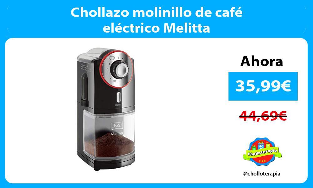 Chollazo molinillo de café eléctrico Melitta