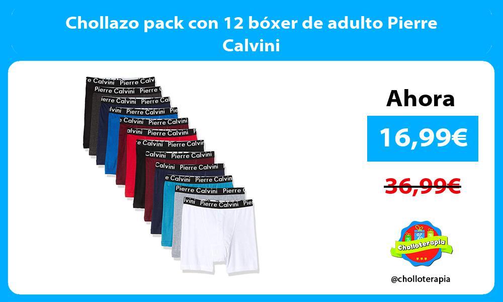 Chollazo pack con 12 bóxer de adulto Pierre Calvini