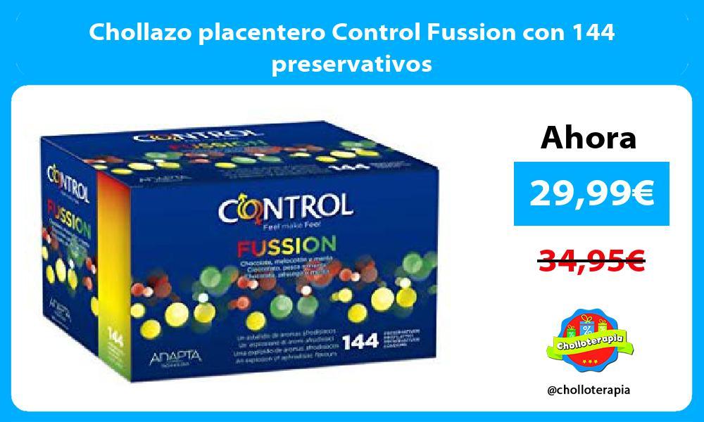 Chollazo placentero Control Fussion con 144 preservativos