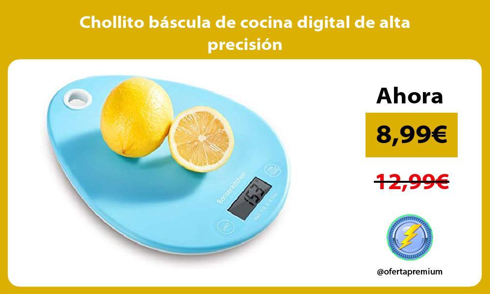 Chollito báscula de cocina digital de alta precisión