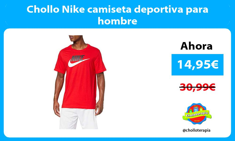 Chollo Nike camiseta deportiva para hombre
