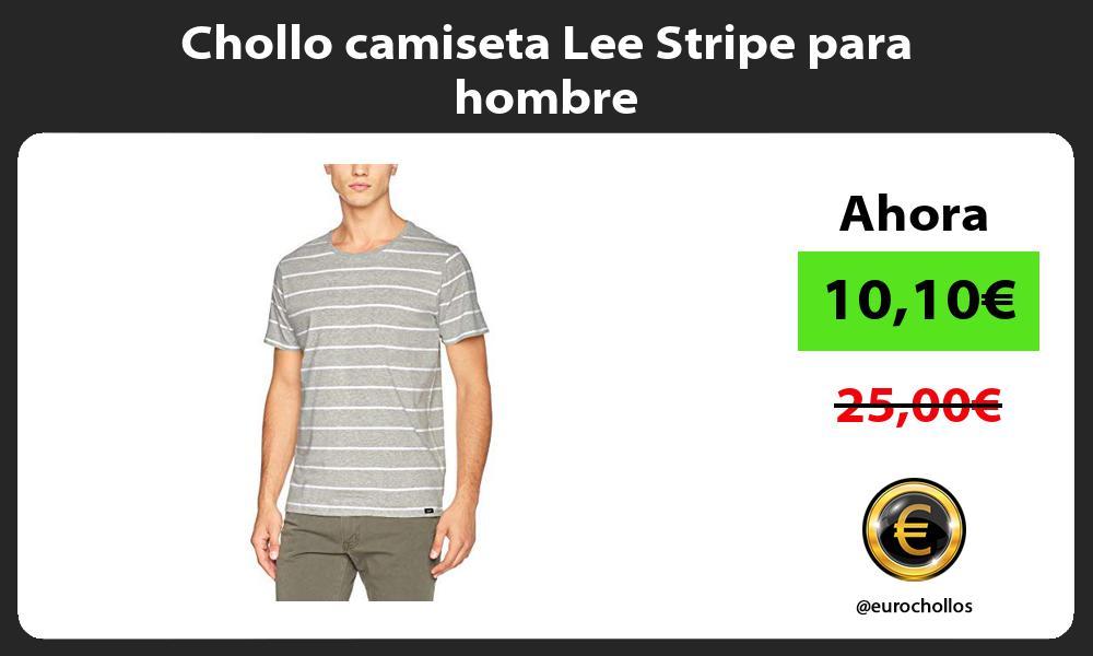 Chollo camiseta Lee Stripe para hombre