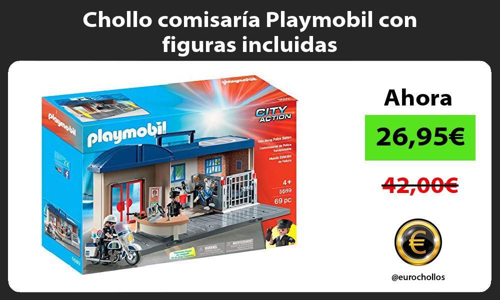 Chollo comisaría Playmobil con figuras incluidas