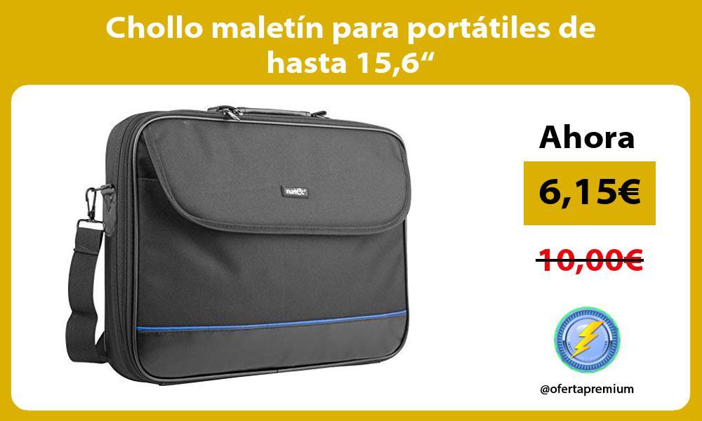 """Chollo maletín para portátiles de hasta 156"""""""
