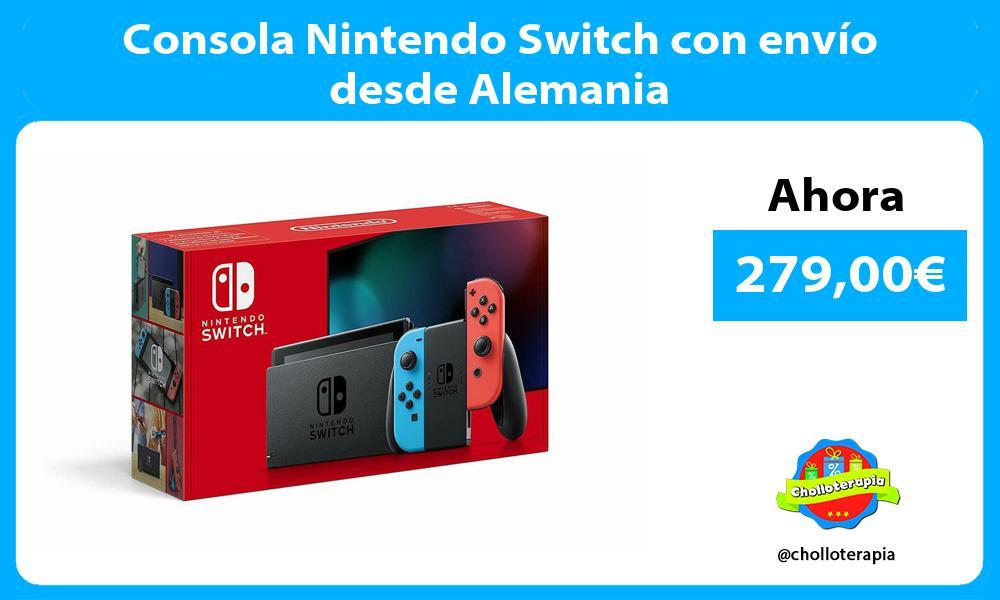 Consola Nintendo Switch con envío desde Alemania