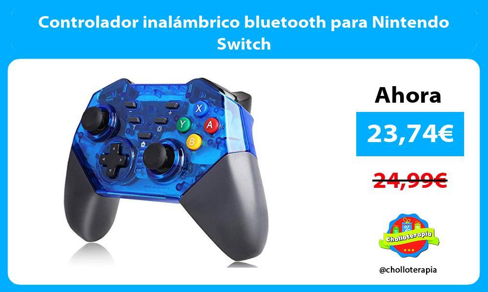Controlador inalámbrico bluetooth para Nintendo Switch
