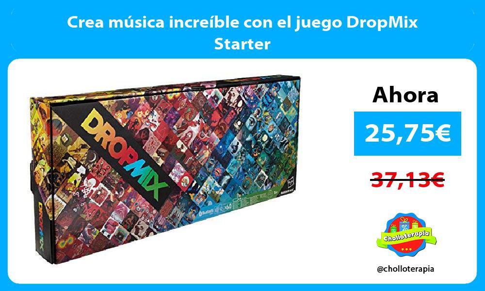 Crea música increíble con el juego DropMix Starter