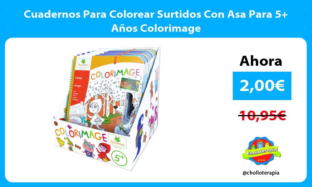 Cuadernos Para Colorear Surtidos Con Asa Para 5 Años Colorimage