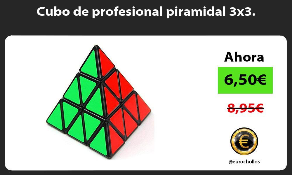 Cubo de profesional piramidal 3x3