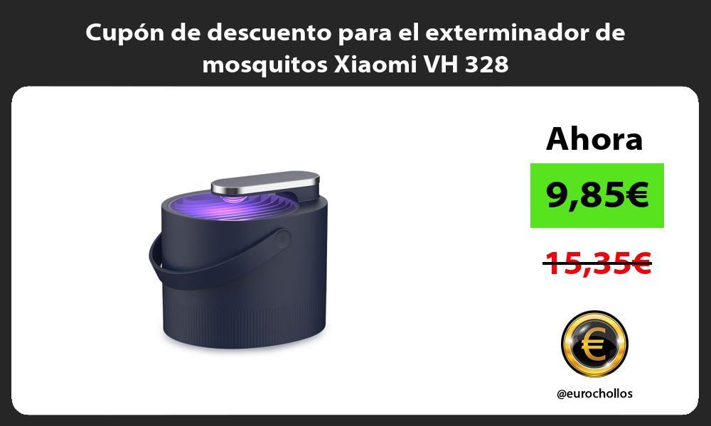 Cupón de descuento para el exterminador de mosquitos Xiaomi VH 328