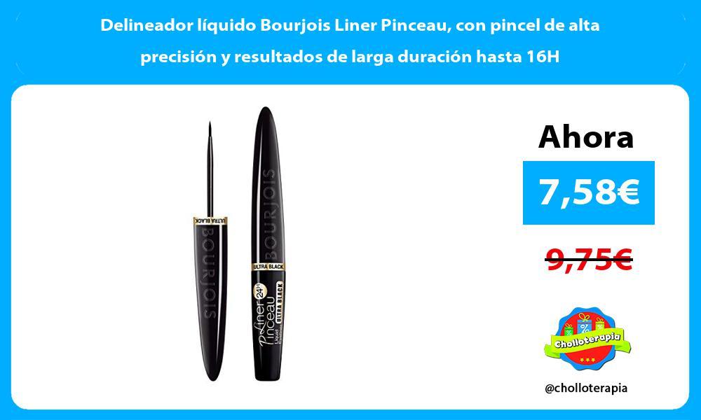 Delineador líquido Bourjois Liner Pinceau con pincel de alta precisión y resultados de larga duración hasta 16H
