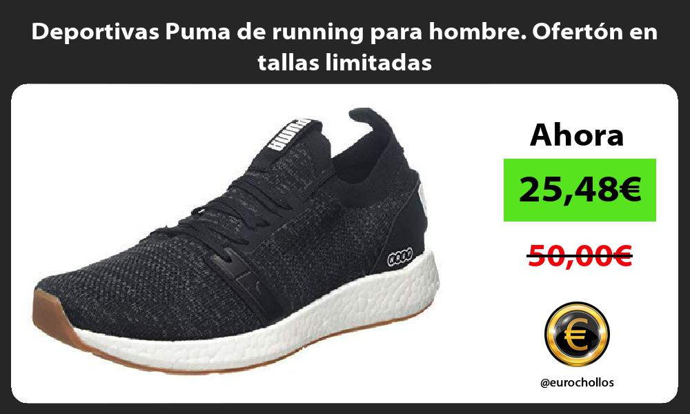 Deportivas Puma de running para hombre Ofertón en tallas limitadas