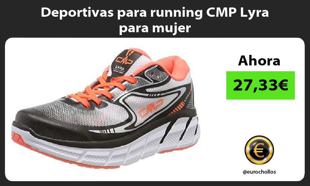 Deportivas para running CMP Lyra para mujer