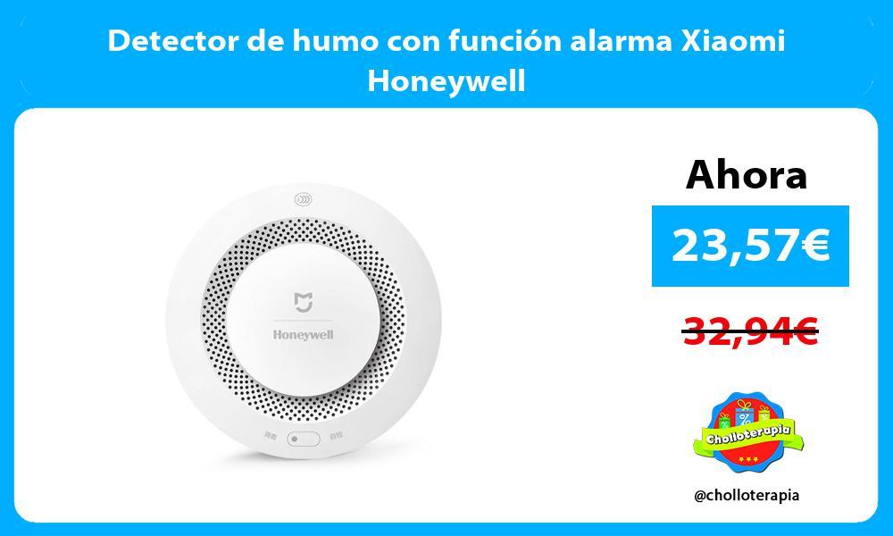 Detector de humo con función alarma Xiaomi Honeywell