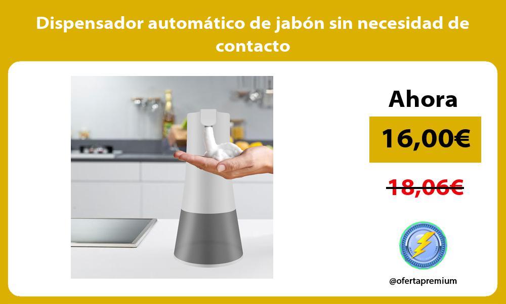 Dispensador automático de jabón sin necesidad de contacto