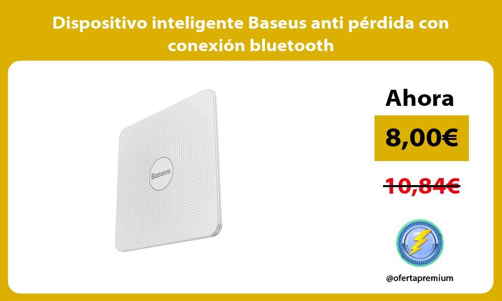 Dispositivo inteligente Baseus anti pérdida con conexión bluetooth