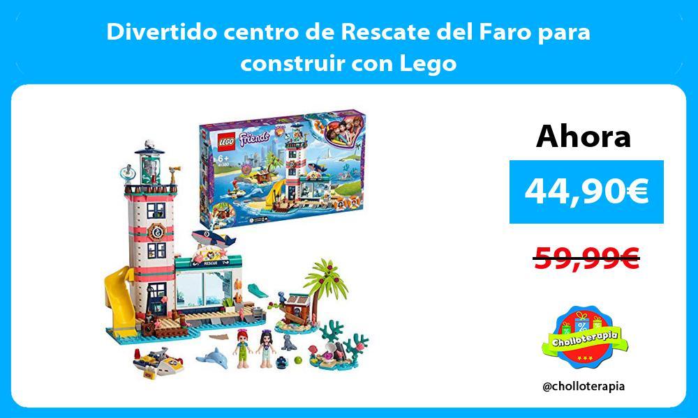 Divertido centro de Rescate del Faro para construir con Lego