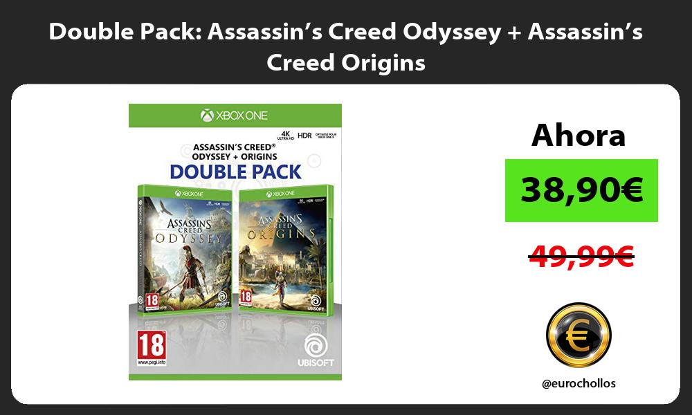 Double Pack Assassin's Creed Odyssey Assassin's Creed Origins
