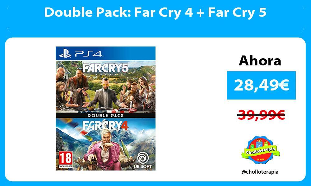 Double Pack Far Cry 4 Far Cry 5