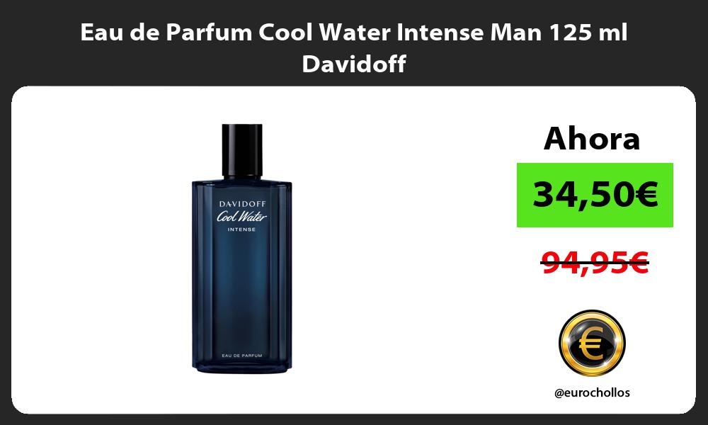Eau de Parfum Cool Water Intense Man 125 ml Davidoff