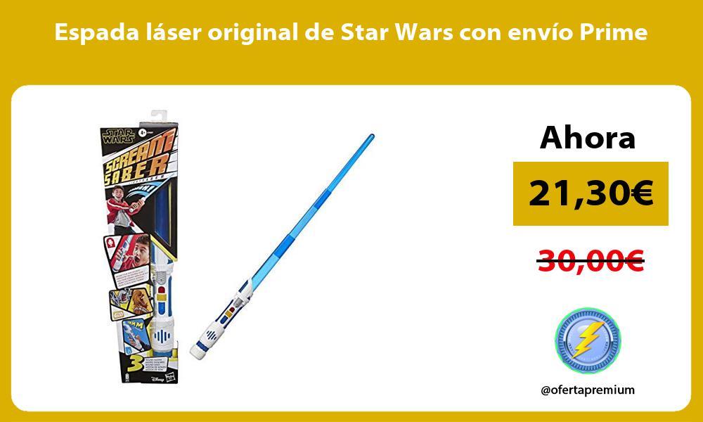 Espada láser original de Star Wars con envío Prime