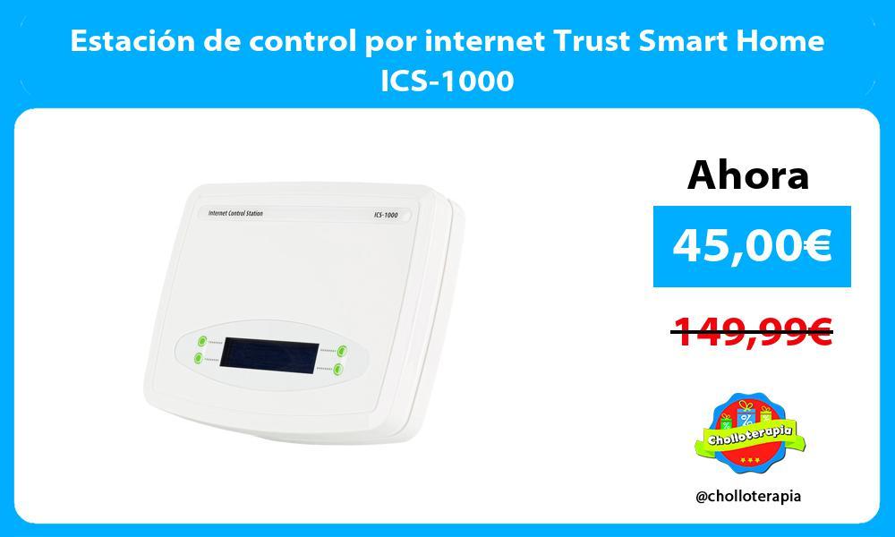 Estación de control por internet Trust Smart Home ICS 1000