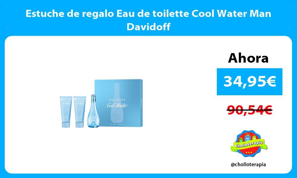 Estuche de regalo Eau de toilette Cool Water Man Davidoff