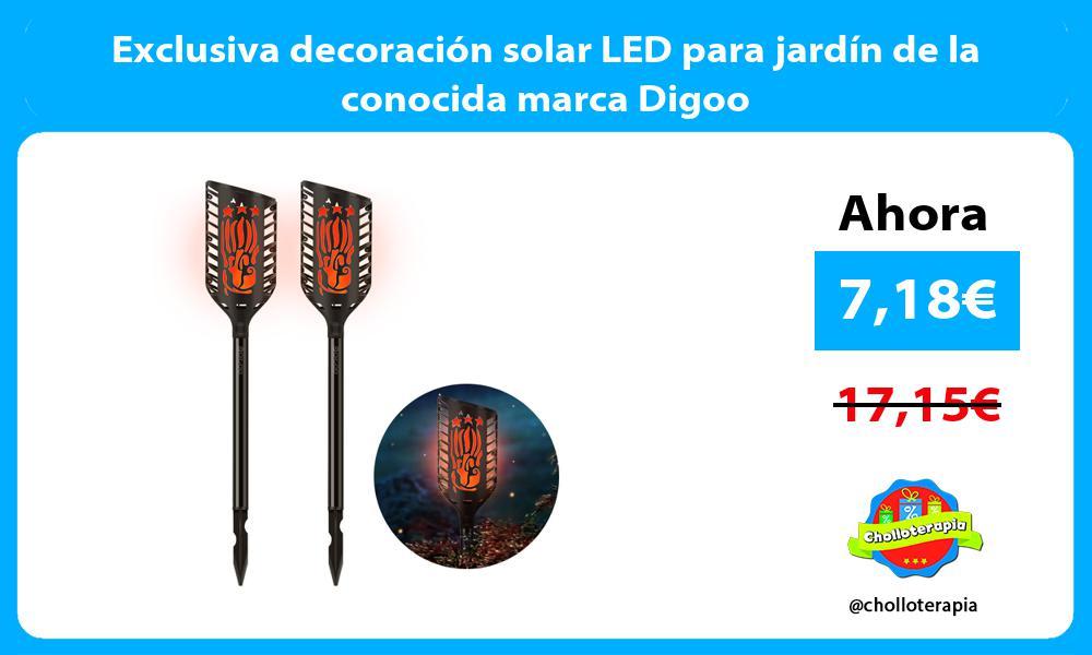 Exclusiva decoración solar LED para jardín de la conocida marca Digoo