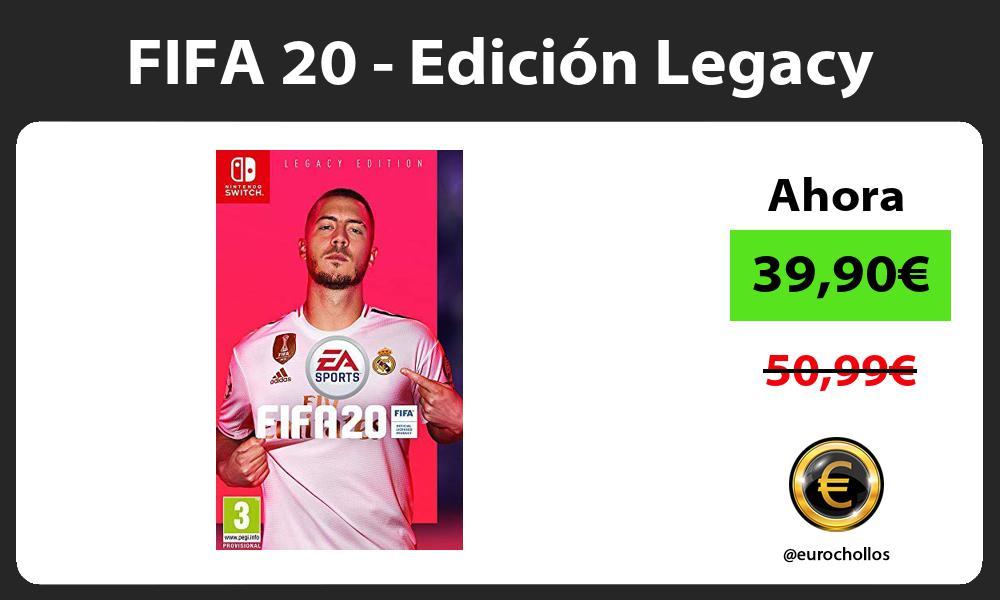 FIFA 20 Edición Legacy