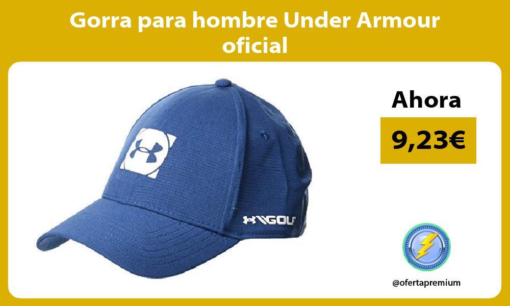 Gorra para hombre Under Armour oficial