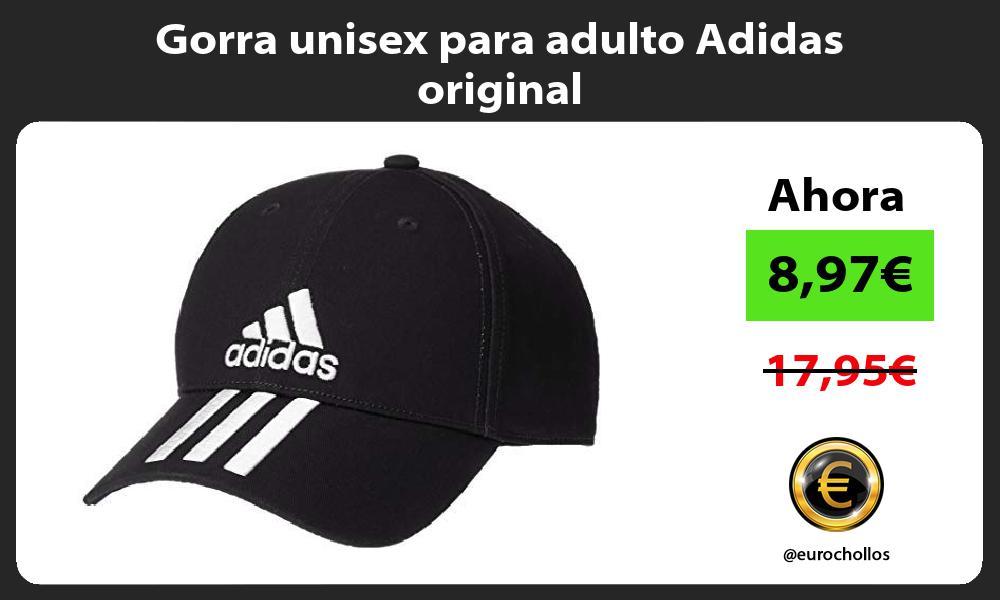 Gorra unisex para adulto Adidas original