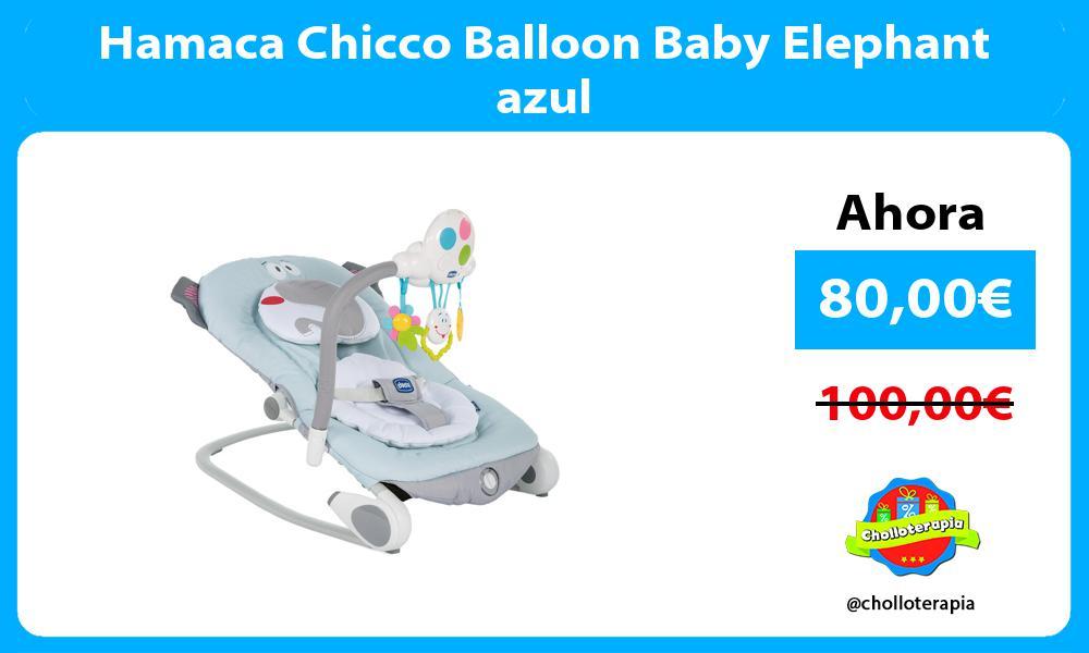 Hamaca Chicco Balloon Baby Elephant azul