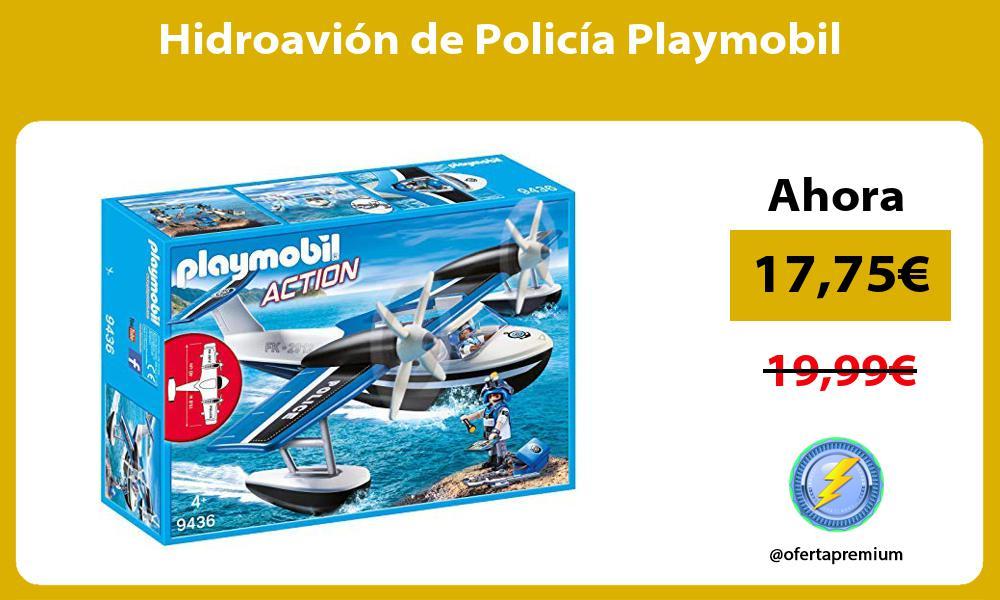 Hidroavión de Policía Playmobil