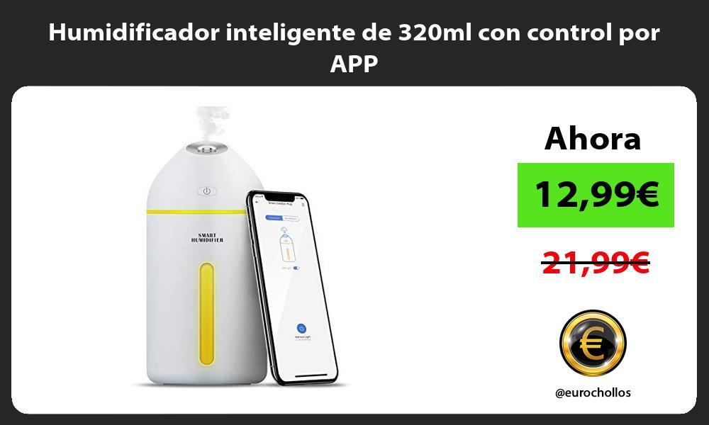 Humidificador inteligente de 320ml con control por APP