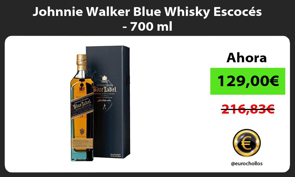 Johnnie Walker Blue Whisky Escocés 700 ml