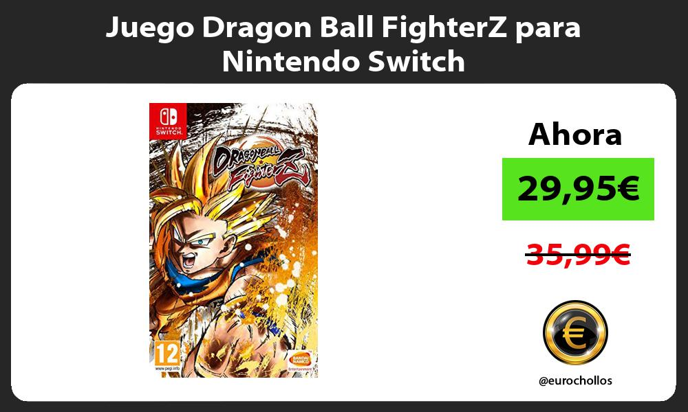 Juego Dragon Ball FighterZ para Nintendo Switch