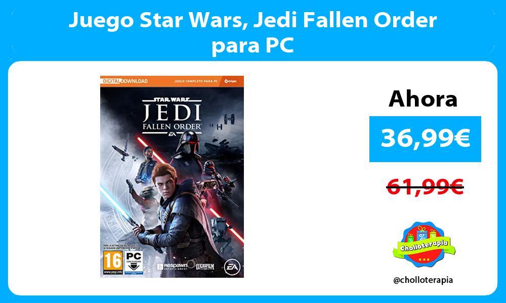 Juego Star Wars Jedi Fallen Order para PC