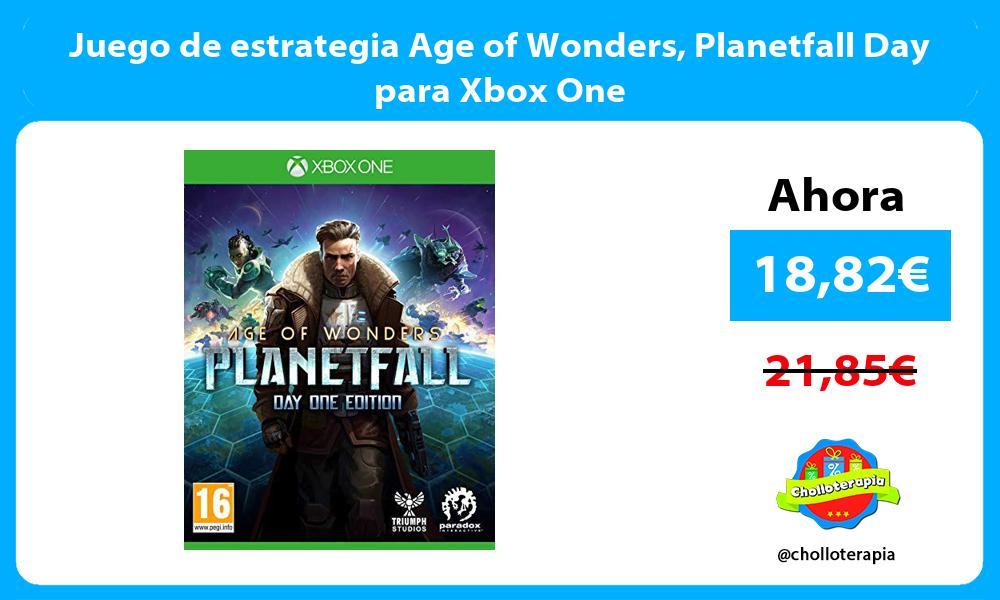 Juego de estrategia Age of Wonders Planetfall Day para Xbox One