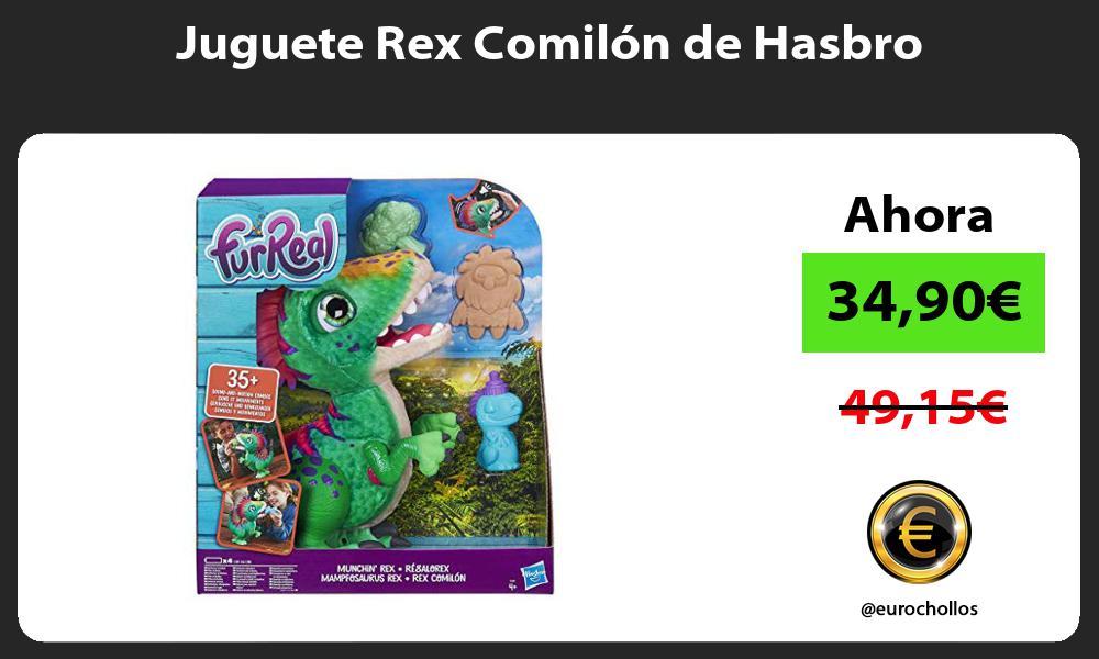 Juguete Rex Comilón de Hasbro