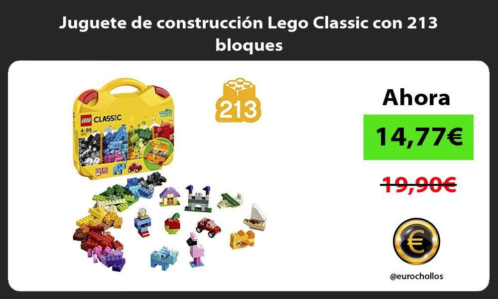 Juguete de construcción Lego Classic con 213 bloques