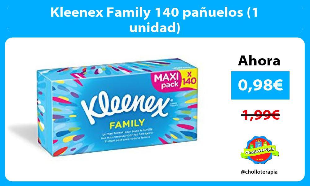 Kleenex Family 140 pañuelos 1 unidad