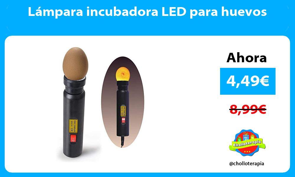 Lámpara incubadora LED para huevos