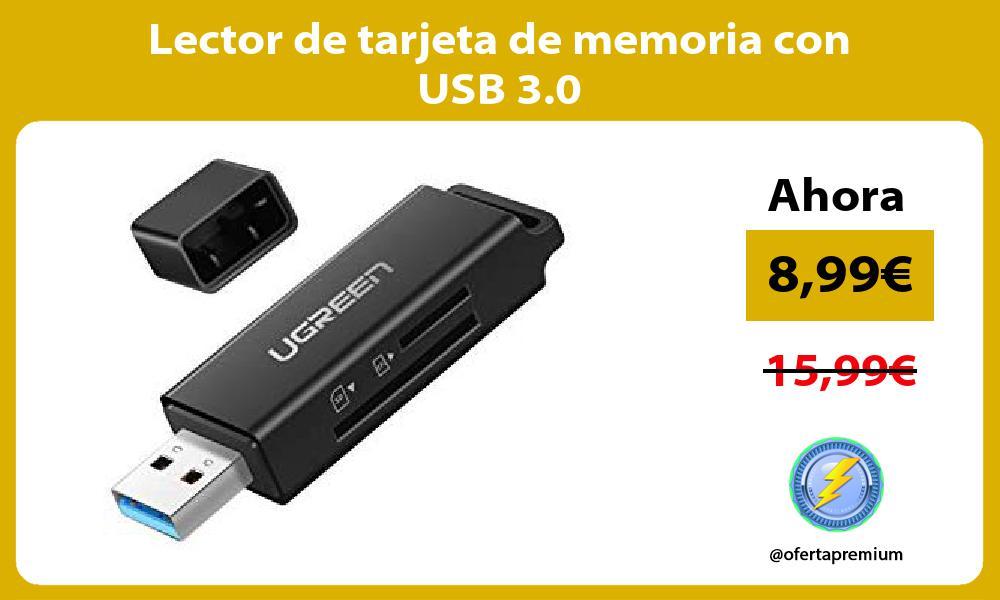 Lector de tarjeta de memoria con USB 3 0