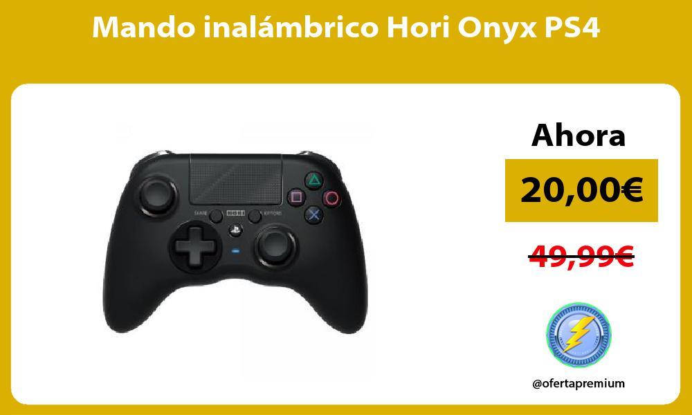 Mando inalámbrico Hori Onyx PS4