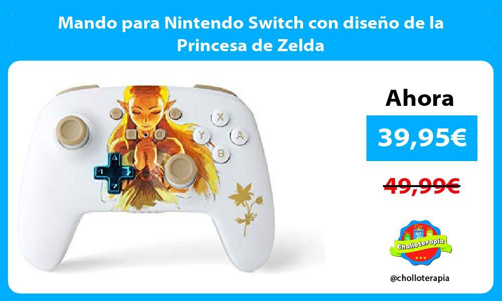 Mando para Nintendo Switch con diseño de la Princesa de Zelda