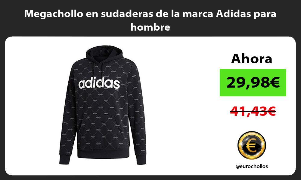 Megachollo en sudaderas de la marca Adidas para hombre