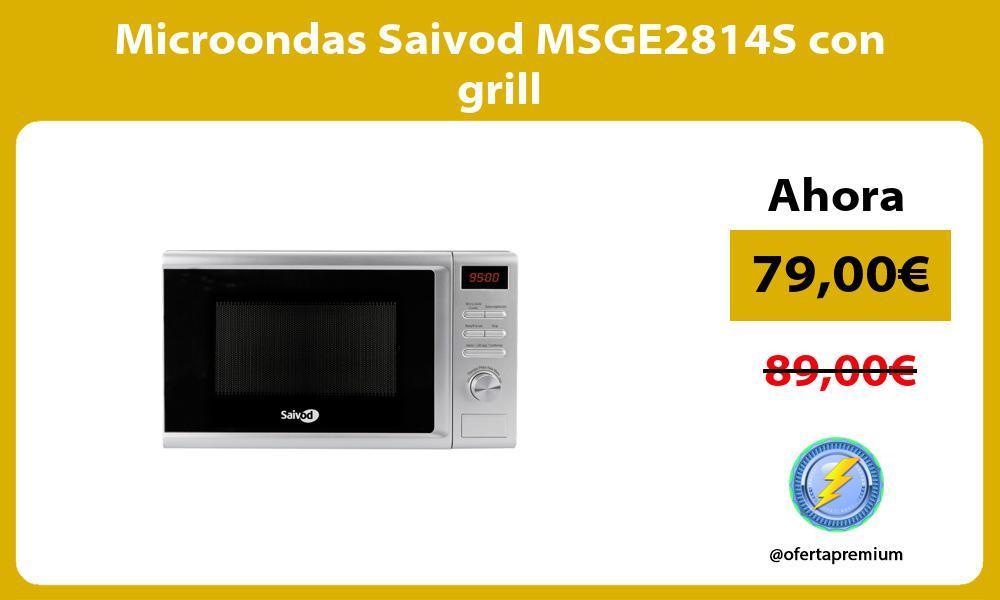 Microondas Saivod MSGE2814S con grill