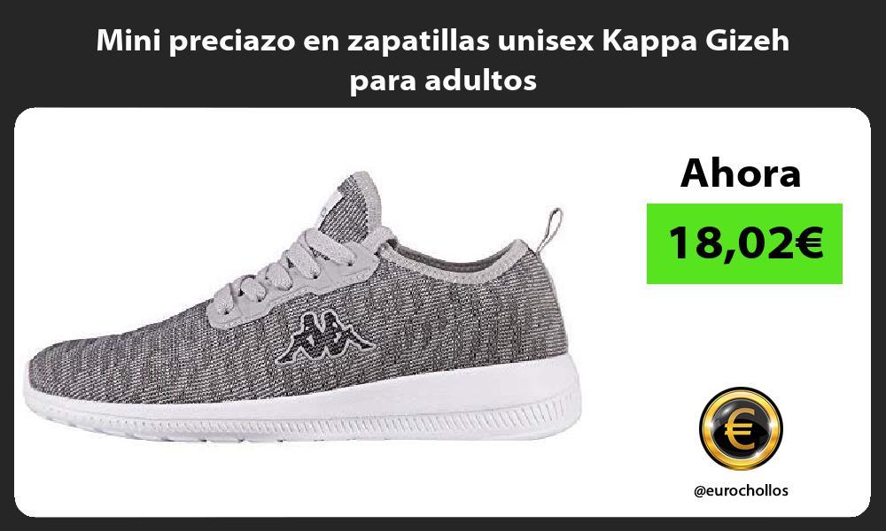 Mini preciazo en zapatillas unisex Kappa Gizeh para adultos
